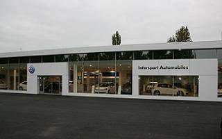 Réaménagement de la concession Intersport Volkswagen à Saint-Avertin
